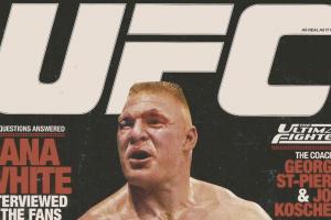 Brock Lesnar magazine