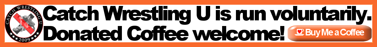 Donate a coffee to Catch Wrestling U at ko-fi.com