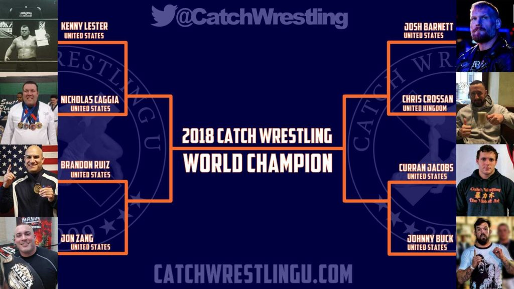 2018 Catch Wrestling World Championship Bracket