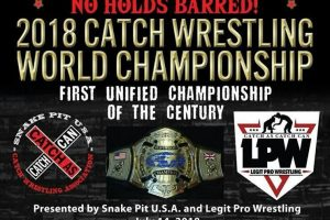 2018 Catch Wrestling Championship Image