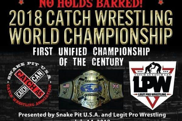 2018 Catch Wrestling Championship Image