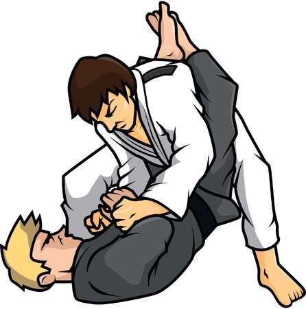 Jiu Jitsu Clipart